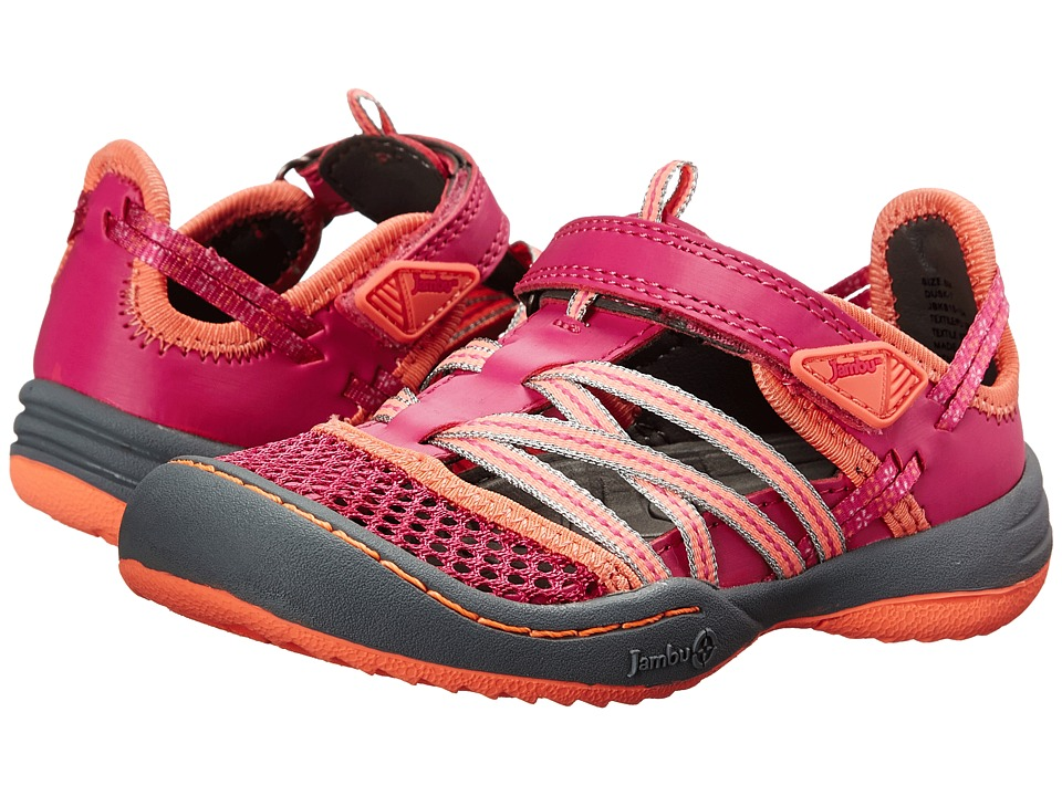 Jambu Kids - Dusk (Toddler) (Fuchsia/Coral) Girl