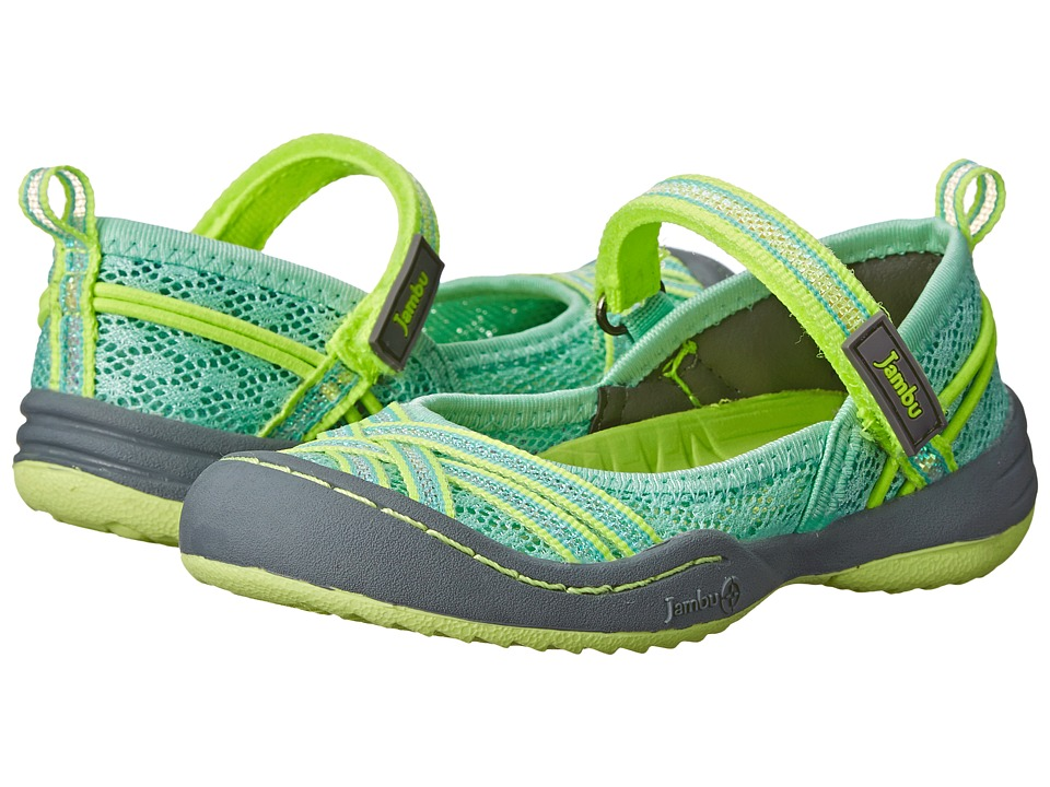 Jambu Kids - Fia (Toddler) (Mint) Girl's Shoes