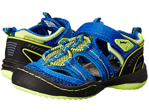 Jambu Kids - Piranha (Toddler) (Lime/Blue) Boy's Shoes