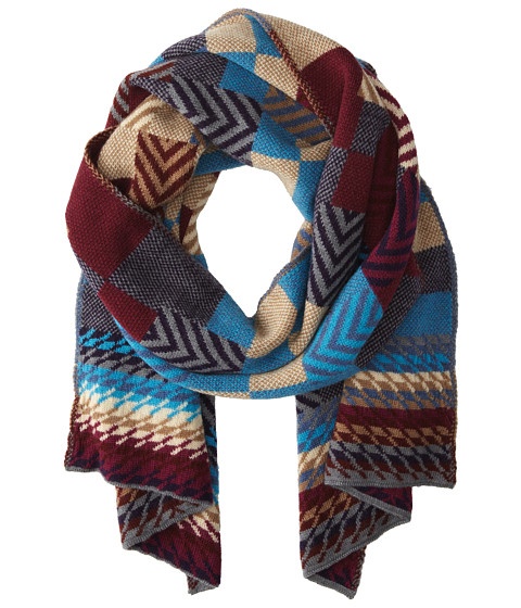 Missoni - SC12WOU4621 (Magenta/Blue) Scarves