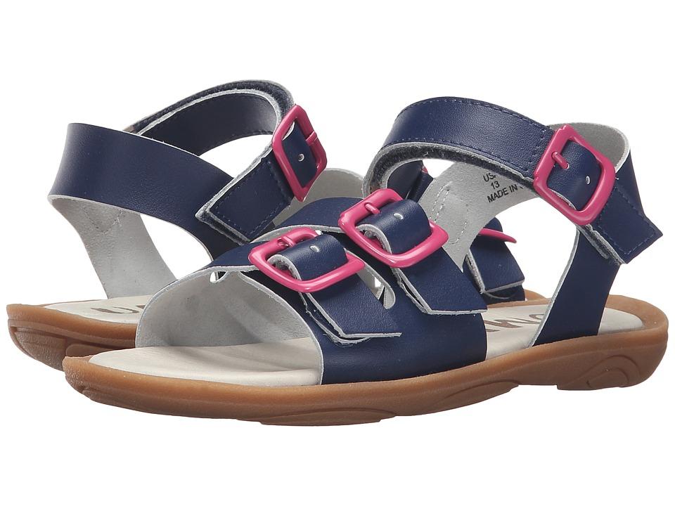 Umi Kids - Celeste (Little Kid) (Navy) Girls Shoes