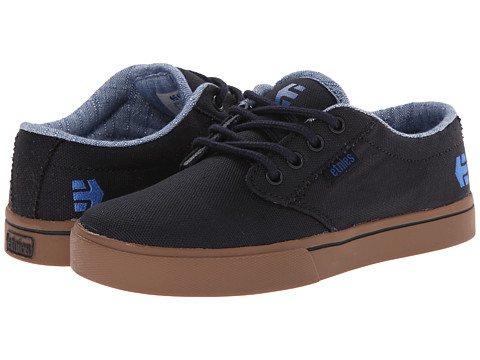 etnies Kids - Jameson 2 Eco (Toddler/Little Kid/Big Kid) (Navy/Navy/Gum) Boys Shoes