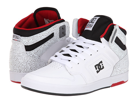 DC - Nyjah HI (White) Men's Skate Shoes