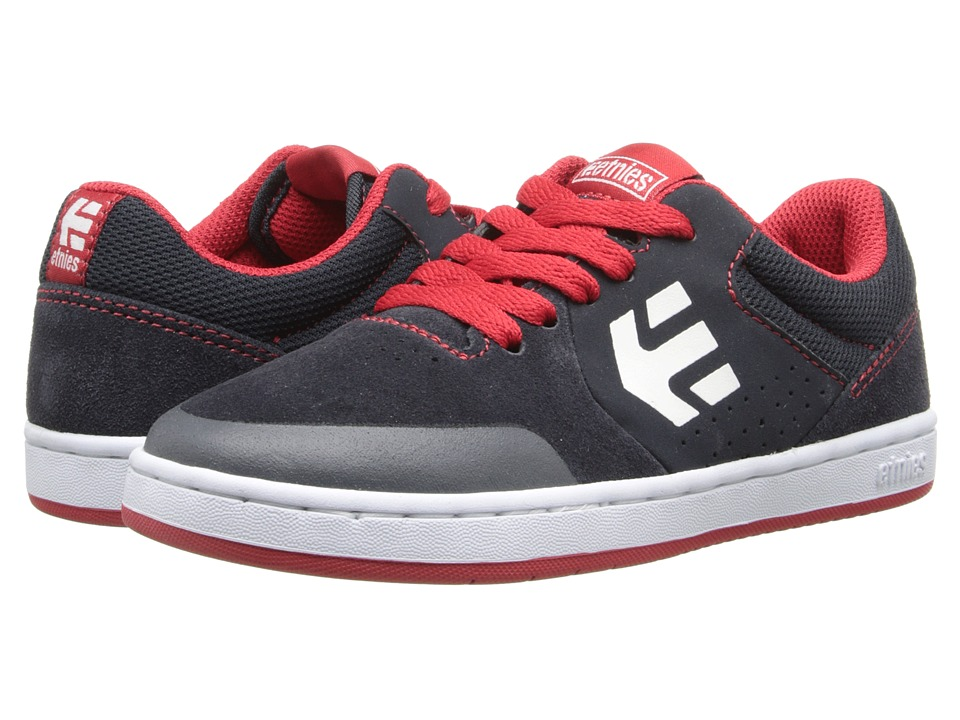 etnies Kids - Marana (Toddler/Little Kid/Big Kid) (Navy/Red/White) Boys Shoes