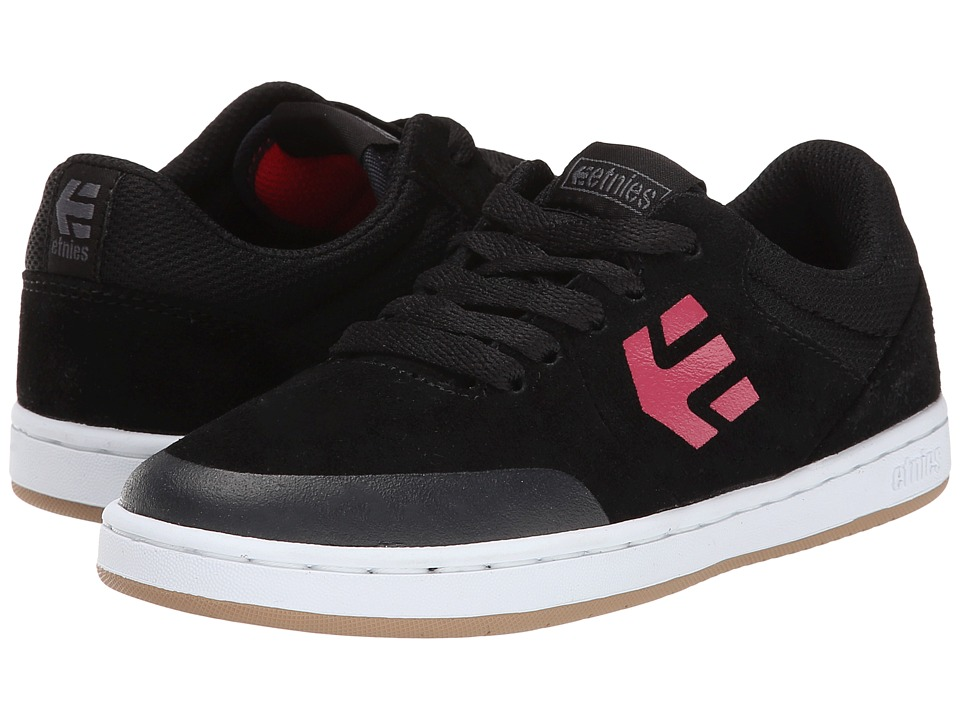 etnies Kids - Marana (Toddler/Little Kid/Big Kid) (Black/Red/White) Boys Shoes