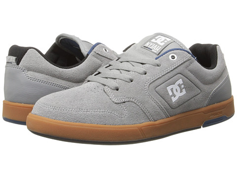 DC - Nyjah (Grey/Gum) Men's Shoes