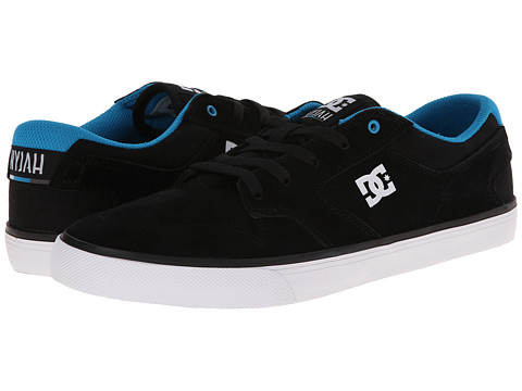DC - Nyjah Vulc (Black/Blue) Men's Skate Shoes