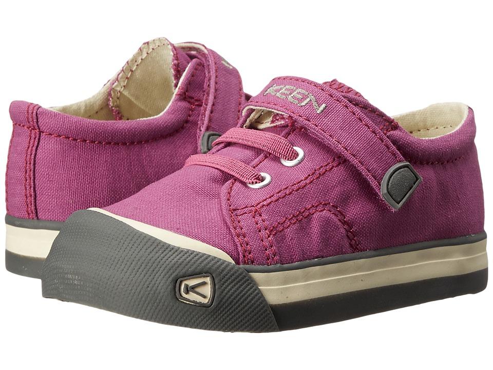 Keen Kids - Coronado Lace (Toddler) (Dahlia Mauve/Gargoyle) Girls Shoes