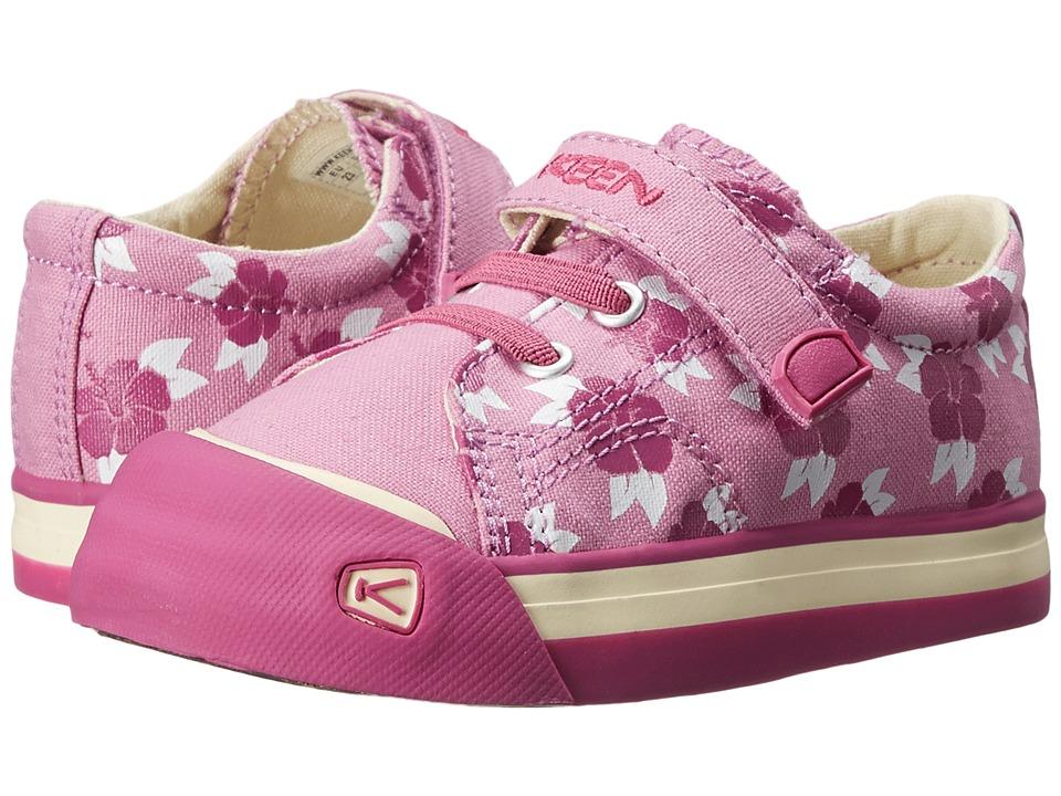 Keen Kids - Coronado Print (Toddler) (Lilac Chiffon Hibiscus Flower) Girls Shoes