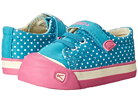 Keen Kids - Coronado Print (Toddler) (Capri Breeze/Dots) Girls Shoes