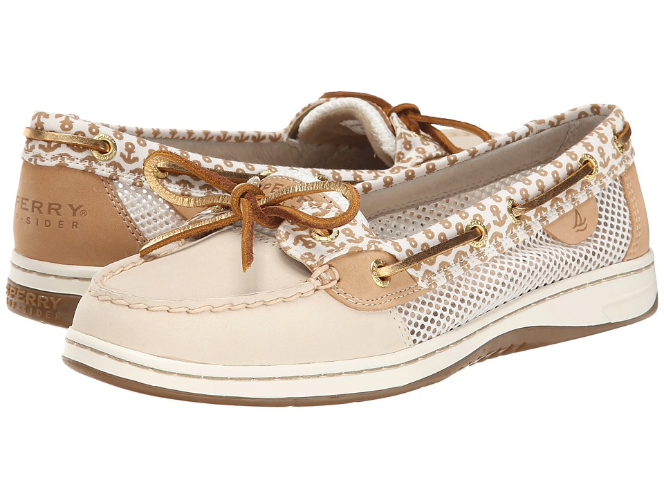 Sperry Top-Sider - Angelfish 2-Eye Critters (Ivory/Sand (Anchors)) Women