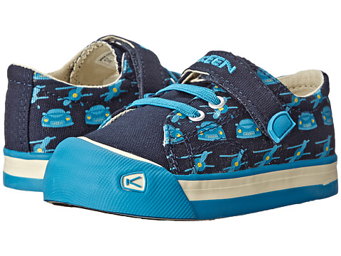 Keen Kids - Coronado Print (Toddler) (Midnight Navy Planes and Cars) Boys Shoes