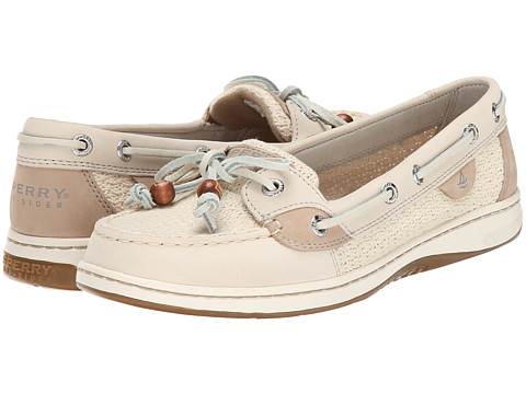 Sperry Top-Sider - Angelfish 2-Eye Cotton Mesh (Ivory) Women