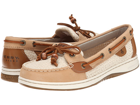 Sperry Top-Sider - Angelfish 2-Eye Cotton Mesh (Sand/Ivory) Women