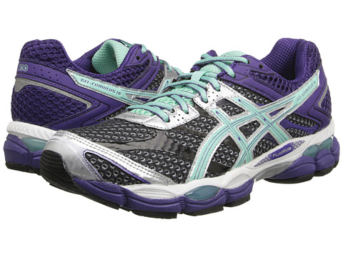 ASICS - Gel-Cumulus 16 (Onyx/Beach Glass/Purple) Women