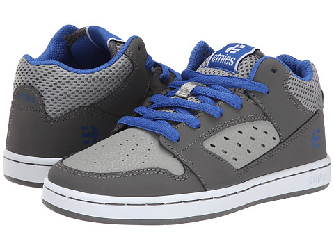 etnies Kids - Drifter MT (Toddler/Little Kid/Big Kid) (Grey/Blue) Boys Shoes