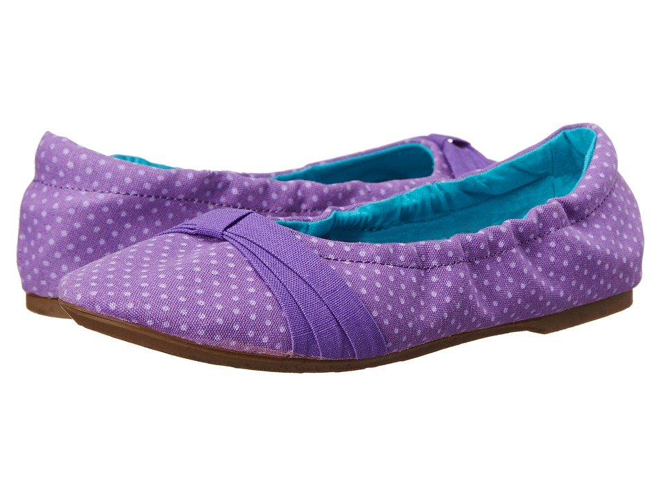 Keen Kids - Cortona Bow (Little Kid/Big Kid) (Purple Heart Dots) Girls Shoes