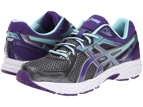 ASICS - GEL-Contend 2 (Charcoal/Purple/Ice Blue) Women