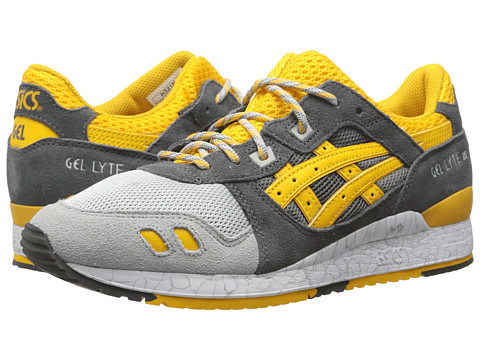 Onitsuka Tiger by Asics - Gel-Lyte III (Grey/Gold Fusion) Classic Shoes