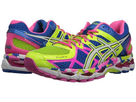 Gel Kayano 21 Women's Shoes YellowWhiteBlack T4H7N.0701