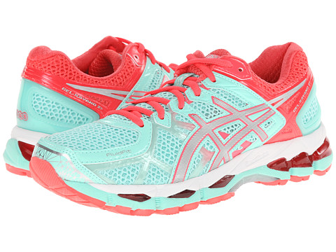 ASICS - GEL-Kayano 21 (Beach Glass/Silver/Pink Diva) Women