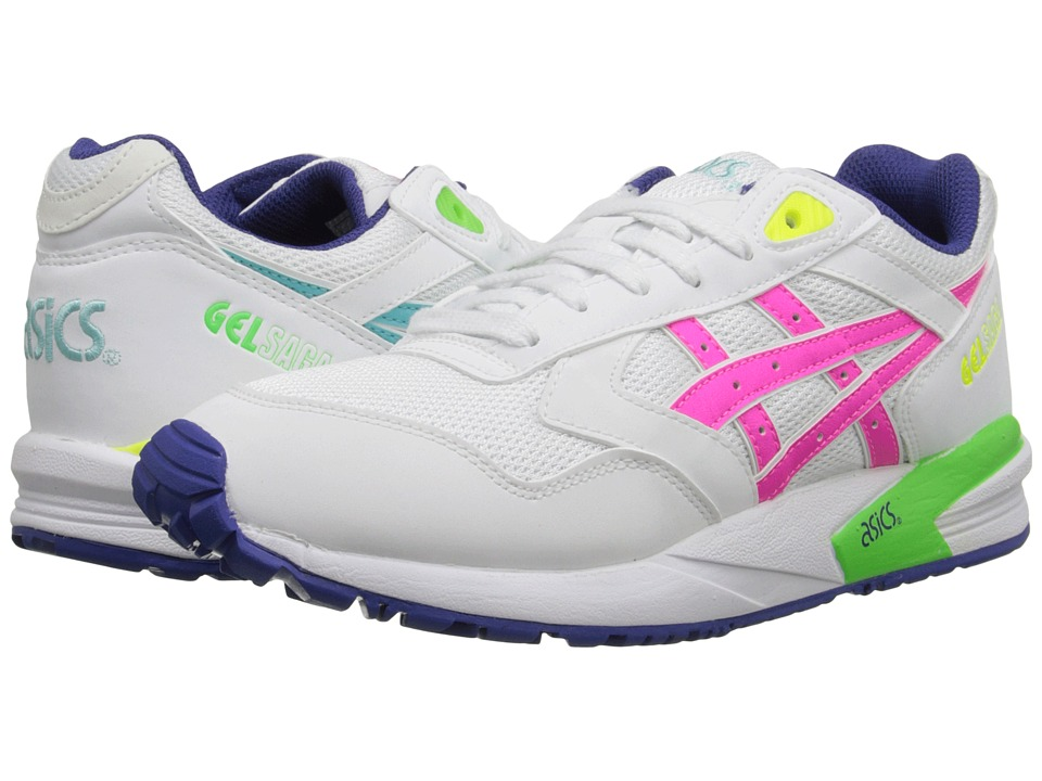 ASICS Tiger - Gel-Saga (White/Pink) Women