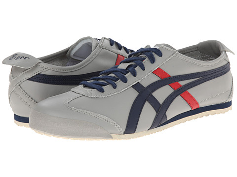Onitsuka Tiger by Asics - Mexico 66 (Light Grey/Navy) Shoes