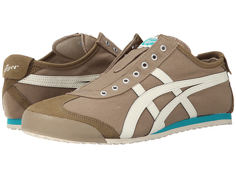 Onitsuka Tiger by Asics - Mexico 66 Slip-On (Light Brown/Sight White) Shoes