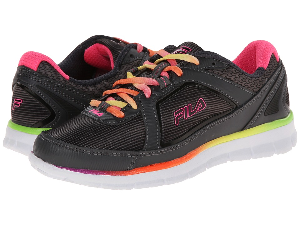 Fila - Finest Hour Neoprene (Dark Shadow/Black/Knockout Pink) Women's Running Shoes