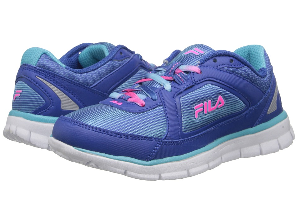 Fila - Finest Hour Neoprene (Classic Blue/Bluefish/Knockout Pink) Women's Running Shoes
