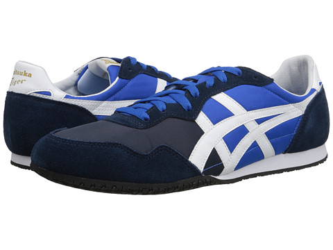 Onitsuka Tiger by Asics - Serrano (Cobalt Blue/White) Classic Shoes