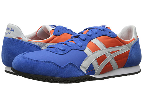 Onitsuka Tiger by Asics - Serrano (Orange/Soft Grey) Classic Shoes
