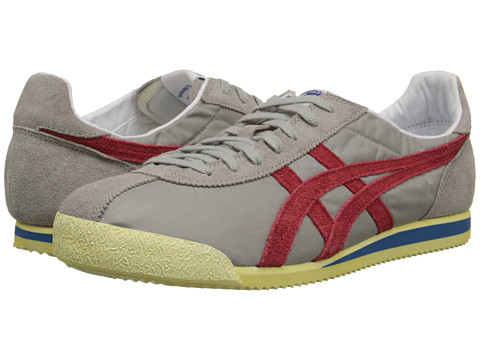 Onitsuka Tiger by Asics - Tiger Corsair VIN (Light Grey/Orange.com) Shoes