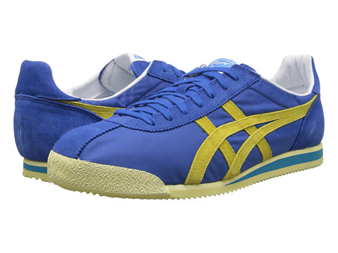 Onitsuka Tiger by Asics - Tiger Corsair VIN (Strong Blue/Blazing Yellow) Shoes