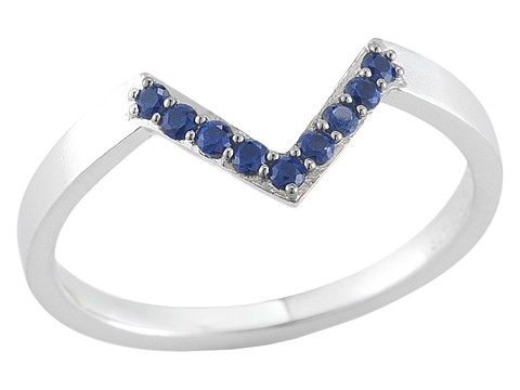 Elizabeth and James - Edo Ring (Blue Sapphire) Ring