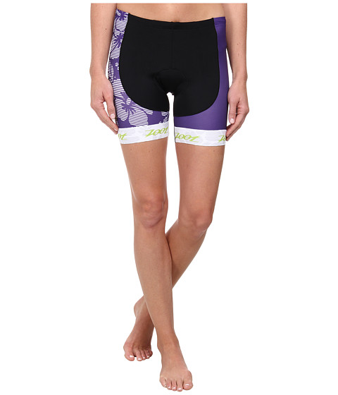 Zoot Sports - Performance Tri Team 6 Short (Purple Haze/Spring Green) Women's Shorts