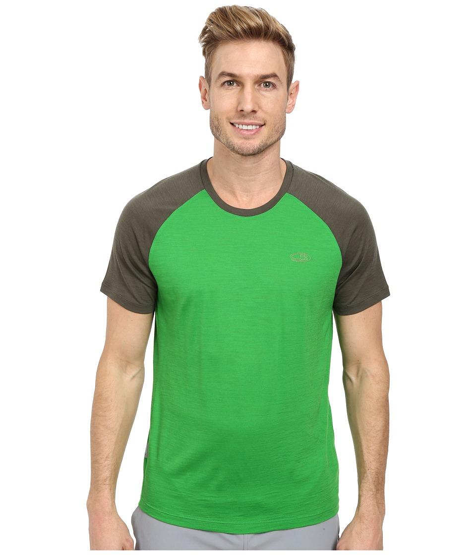 Icebreaker - Hopper Lite S/S (Lawn) Men's T Shirt