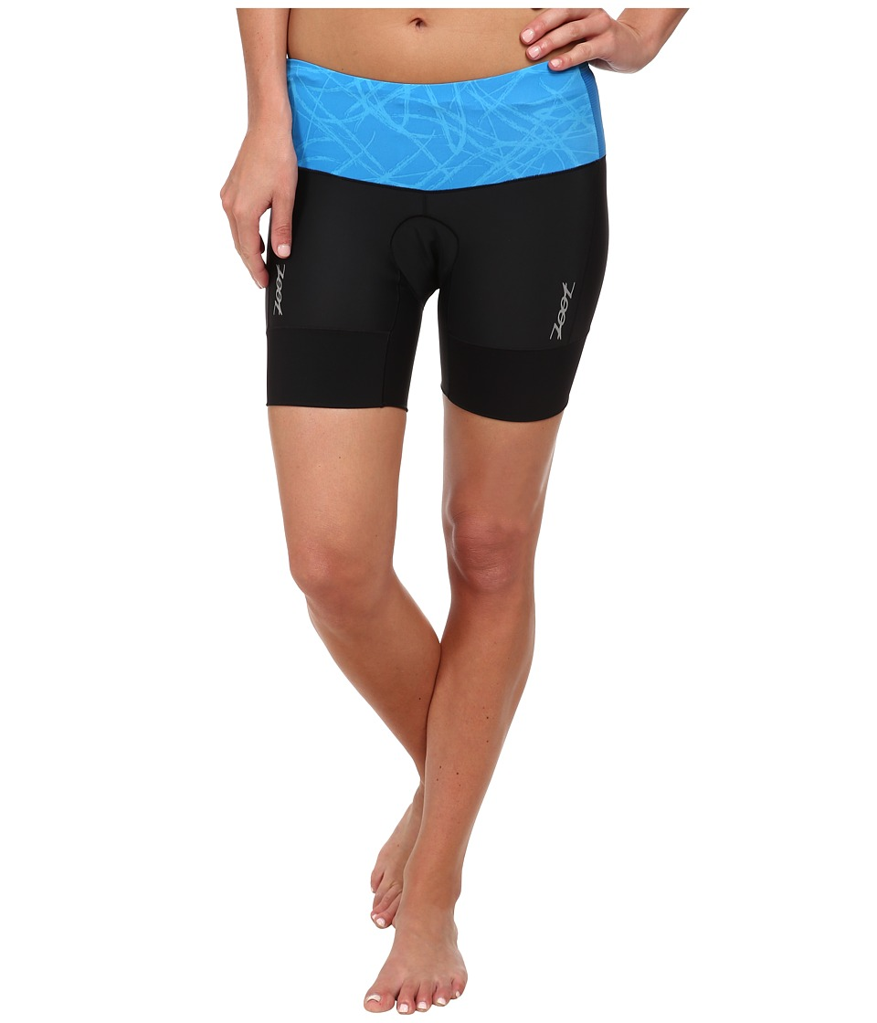 Zoot Sports - Performance Tri 6 Short (Maliblue Static) Women's Shorts