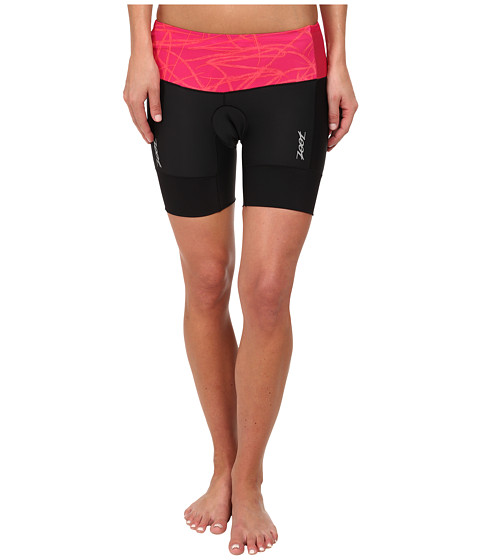 Zoot Sports - Performance Tri 6 Short (Pink Grapefruit Static) Women's Shorts