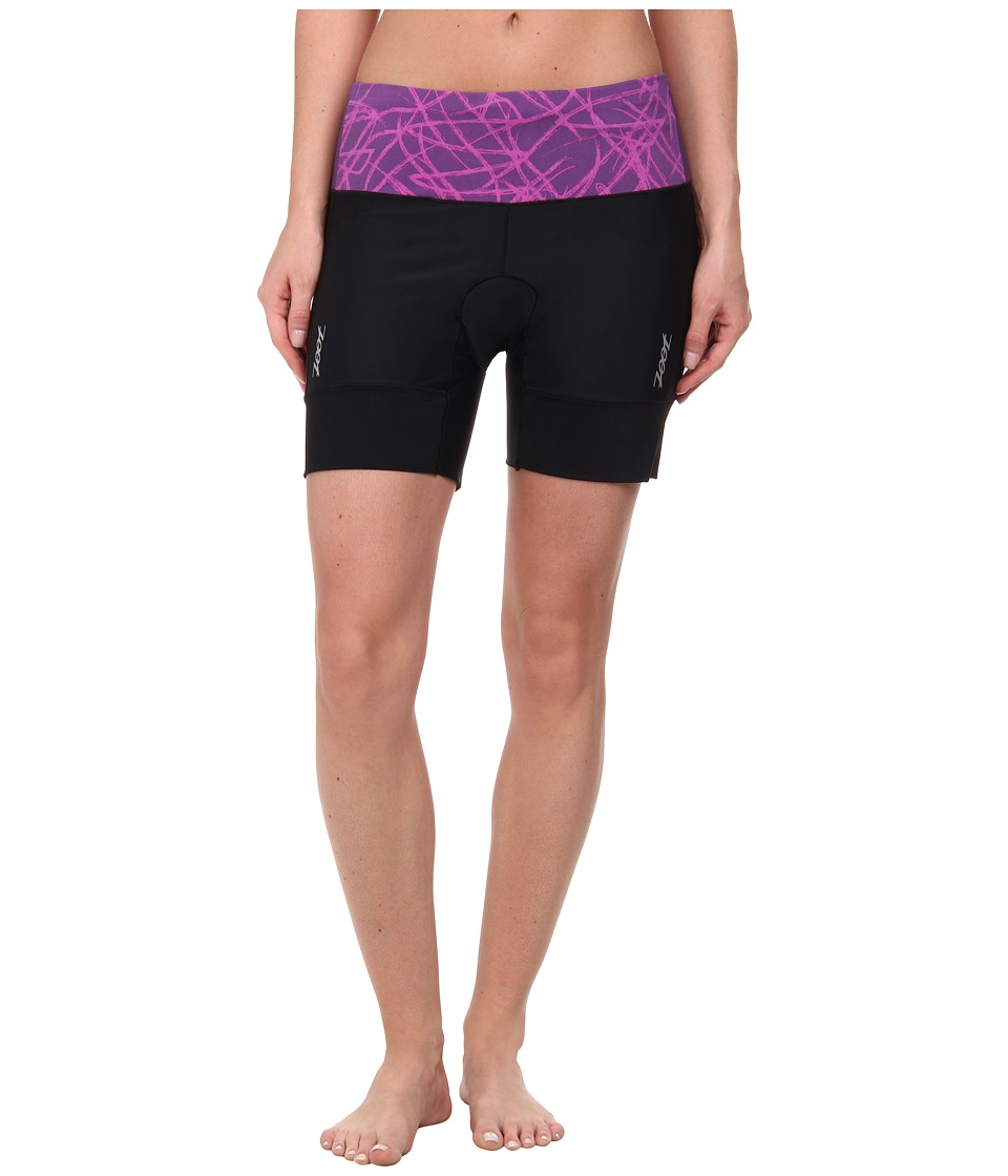 Zoot Sports - Performance Tri 6 Short (Purple Haze Static) Women's Shorts