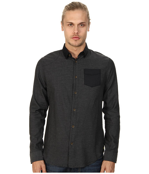 Descendant Of Thieves - Heathered Welch Flannel Midnight (Midnight Heather) Men