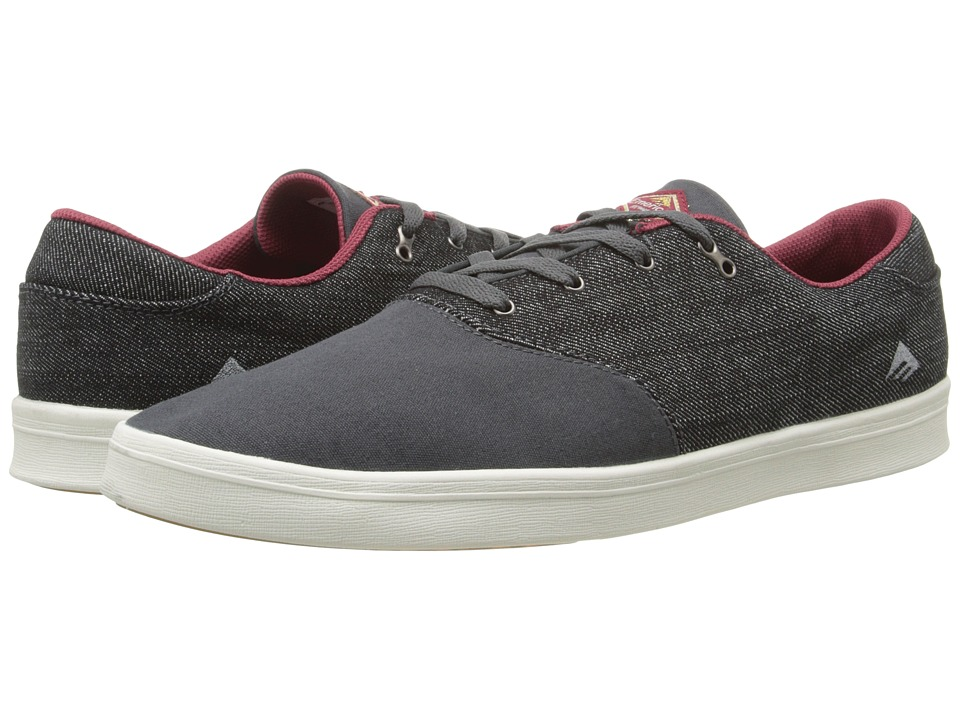 Emerica - The Reynolds Cruiser LT (Black/Grey) Men's Skate Shoes