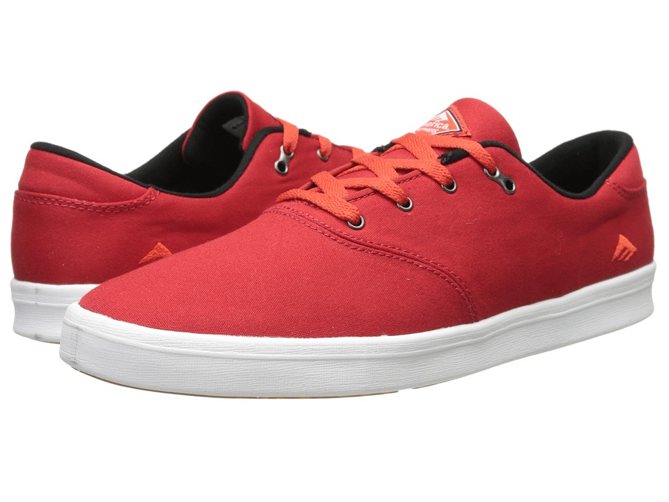 Emerica - The Reynolds Cruiser LT (Red/White) Men's Skate Shoes