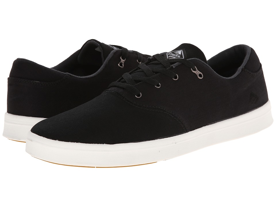 Emerica - The Reynolds Cruiser LT (Black/White) Men's Skate Shoes