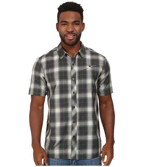 Icebreaker - Departure S/S Shirt (Monsoon) Men's Short Sleeve Button Up