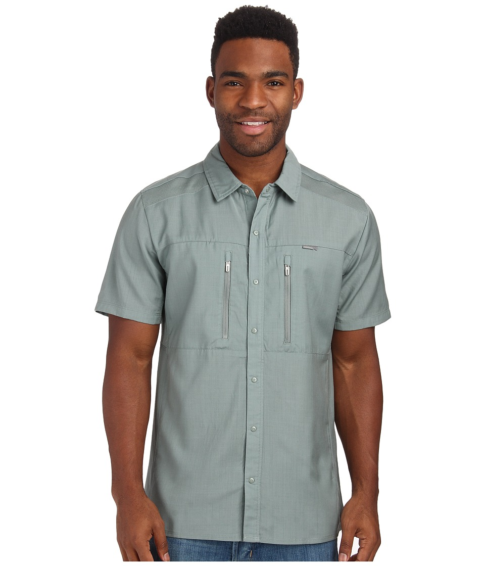Icebreaker - Oreti S/S Shirt (Shale) Men's Clothing