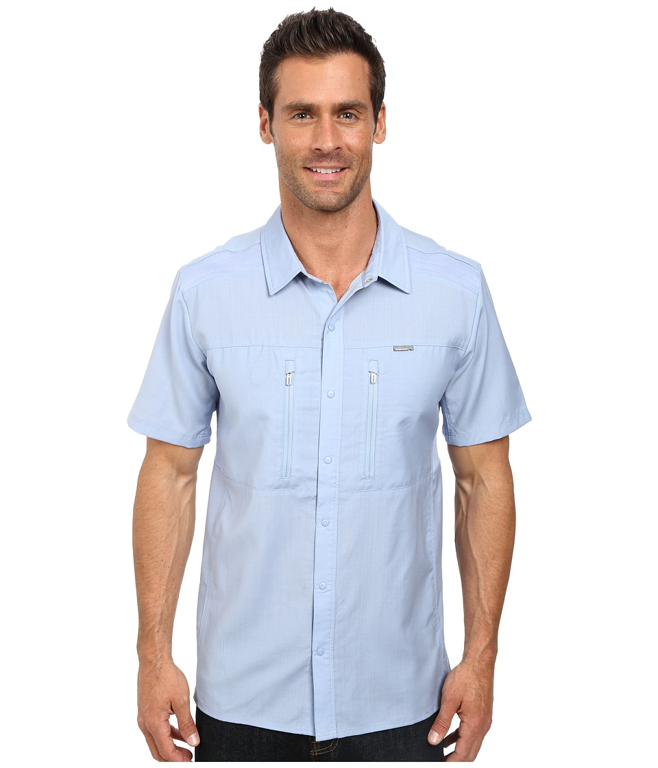 Icebreaker - Oreti S/S Shirt (Brook) Men's Clothing
