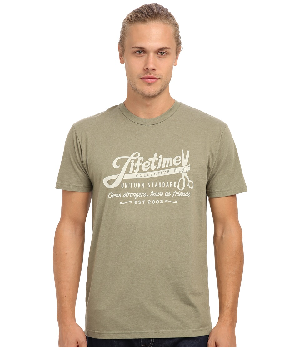 Lifetime Collective - Tape Measure Tee (Light Olive) Men
