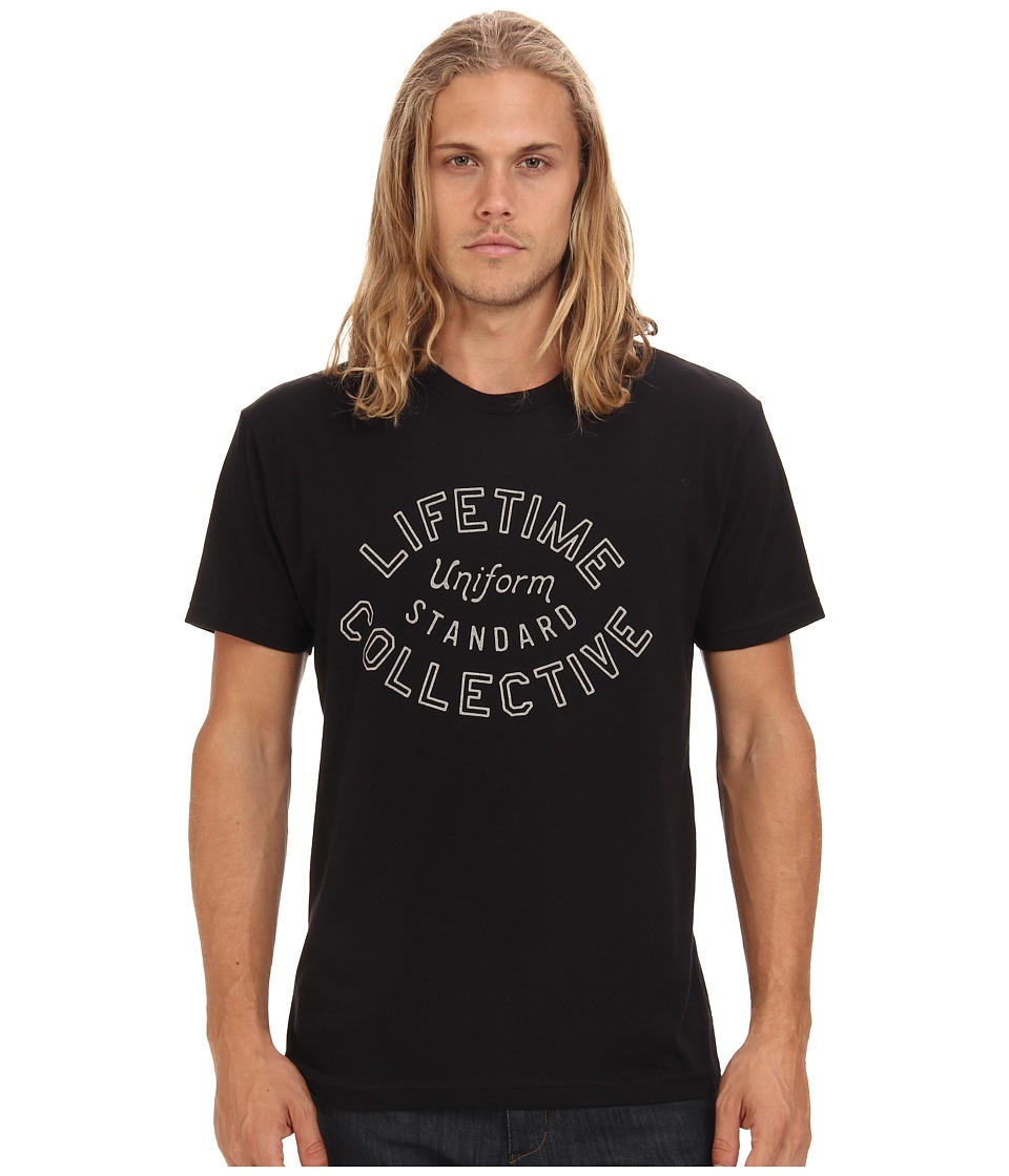 Lifetime Collective - Crash Tee (Black) Men's Clothing