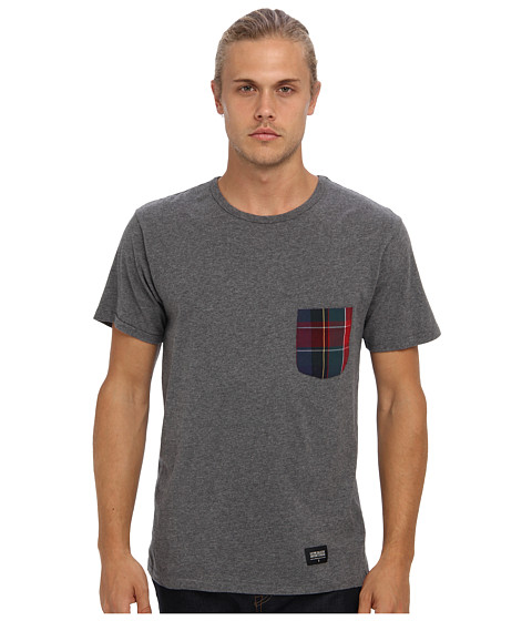 Lifetime Collective - Jamie Tee (Heather Grey) Men's Clothing